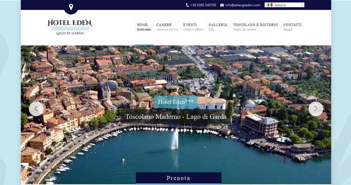 siti web per hotel